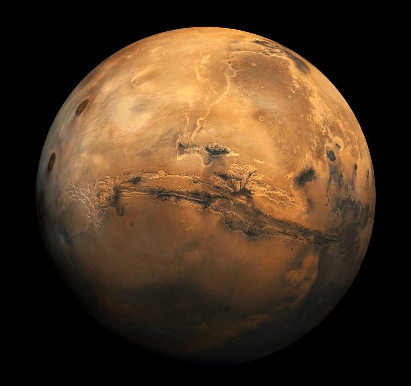 Marsi eshte planeti i 4 nga Dielli dhe i 7 per madhesi.Marsi ka nje atmosfere shume te holle.Vezhgimet e bera planetit per vite me radhe,treguan se Marsi ka nje perberje te hershme te akullit ne te dyja polet,ata jane te dukshme me teleskope te vogel.
